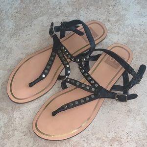 DOLCE VITA 60% Leather Stud Sandals